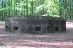 Cuneraweg, bunker WOII