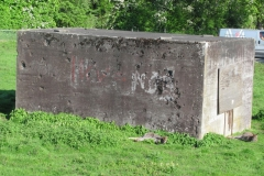 Nude, bunker WOII