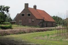 Weteringsteeg 45, wederopbouwboerderij 1940
